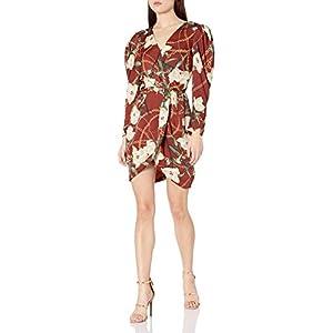 ASTR the label Women's London Faux Wrap Short Dress