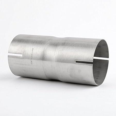 76mm Edelstahl Rohrverbinder Doppelmuffe Auspuffverbinder 3 Auto