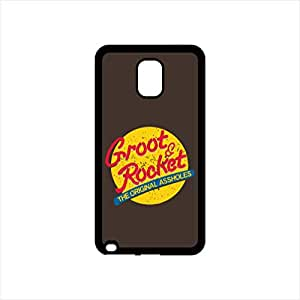 Fmstyles - Samsung Note 4 Mobile Case - Groot & Rocket TOA