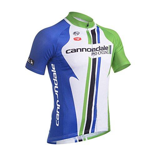 (UONO Mens Short Sleeves Team Cycling Jersey Jacket Bicycle Bike Shirt)