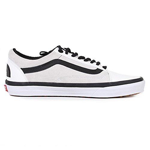 Vans Vault x The North Face Mens Old Skool (MTE) DX Trainer White / Black-White-9 Size 9