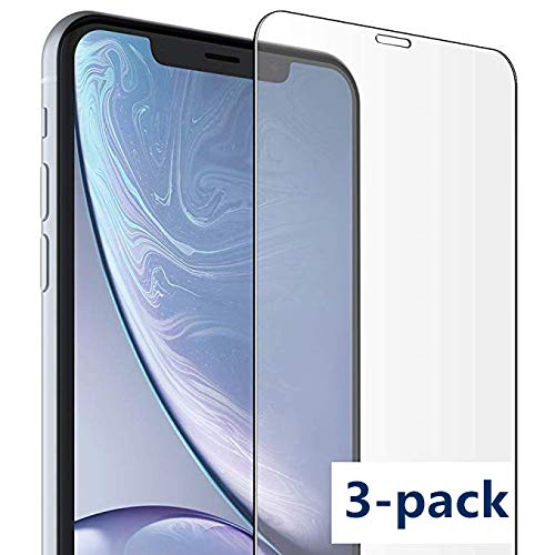 detailed look 2af7d f3d7a 3-Pack iPhone X/Xs Screen Protector,[3-Pack ] [Tempered Glass] 0.25mm Ultra  Thin 2.5D Arc Edges.Easy Application,Bubble ...
