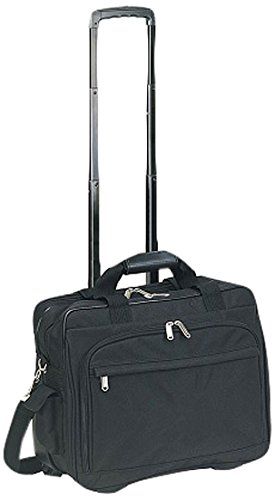Preferred Nation 4515 Rolling Compact Laptop Catalog Case, Black ()