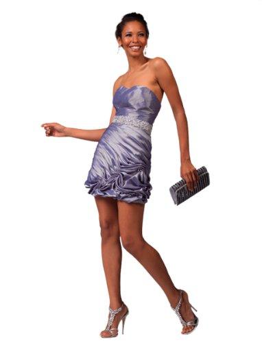 Iridescent Short Dress Cocktail Dress - 3