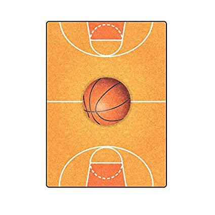 f7e5bf1956d Image Unavailable. Image not available for. Color  Unique BagST Super Soft  Warm Personalized Throw Blanket Basketball ...