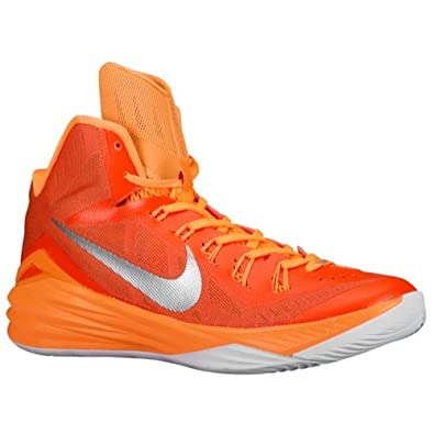 7e5d11f42aa7 Nike Lunar Hyperdunk 2014 TB - Men s Basketball Shoes Orange Blaze Metallic  Silver Bright Citrus 13.5 D(M) US  Amazon.in  Shoes   Handbags
