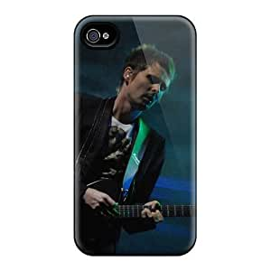 AlainTanielian Iphone 4/4s Perfect Hard Cell-phone Case Customized Colorful Muse Pictures [XHM5442uiuN]