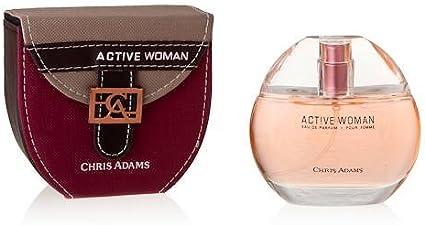 Chris Adams 32927703 woman Active bolso de mano para mujer perfume 100 ml 2er Pack [salud y belleza]-: Amazon.es: Belleza