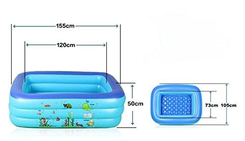 Baby marine Bällebad/Verdickte aufblasbare Planschbecken/Indoor ungiftig Haushalt Säuglings- und Kinder Planschbecken-C
