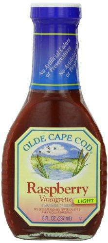 Olde Cape Cod Lite Raspberry Vinaigrette Dressing, 8 Ounce Cape Cod Oyster
