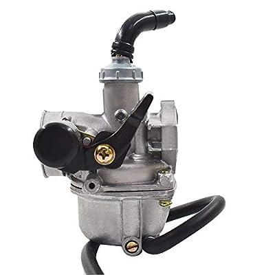 Carb 50cc 70cc 90cc 110cc 125cc for ATV Dirt Bike Go Kart Carburetor W/Air Filter: Garden & Outdoor