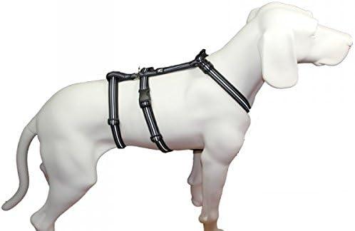Reflexband 7 Gr/ö/ßen Sicherheitsgeschirr f/ür Pflegehunde No Exit ausbruchsicheres Hundegeschirr f/ür Angsthunde Panikgeschirr