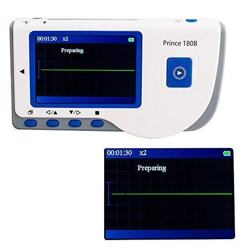Pevor Prince 180B Handheld Heart Rate Monitor Portable Full-color OLED display Monitor