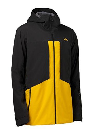 Strafe Outerwear Ozone Jacket, Medium, Black/Gold