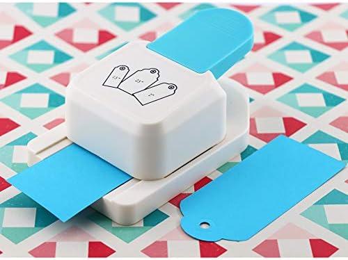 KAMEI Perforadora de papel para manualidades, 1.5 2 2.5 Etiqueta, perforadora para álbumes de recortes, ideal para manualidades, actividades hechas a mano, jardín de infantes, niños, maestros, suministros de oficina