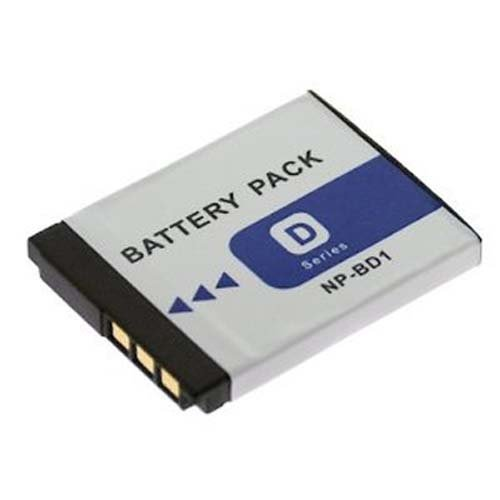 NP-FD1 & NP-BD1 Rechargeable Lithium-Ion Replacement Battery Pack (3.7v, 800mAh) for Sony DSC-T70 & DSC-T200 Digital Cameras