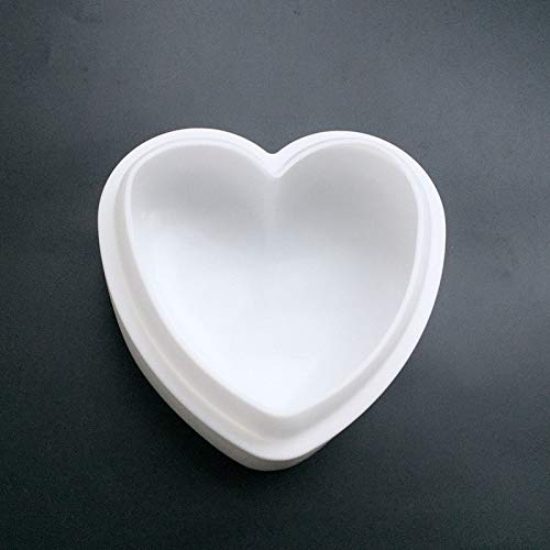 Round Cabochon Cream - 1 Set Silicone Donuts Round Cake Mold Love Heart 3D Mousse Moulds For Ice Creams Chocolates Dessert Pan Bakeware Geometric shapes