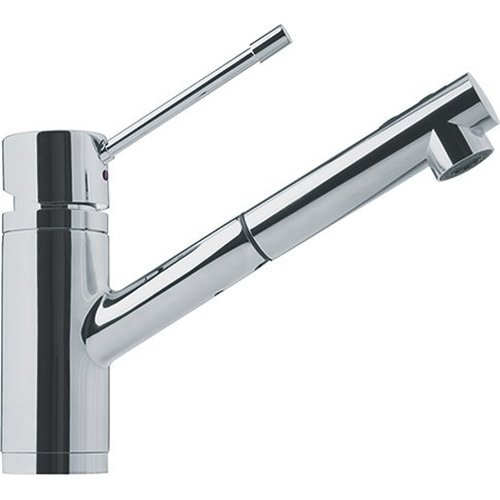 (Franke FFPS1380 Single-Handle Pull-Out Spray Kitchen Faucet, Satin Nickel)