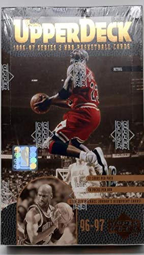 - 1996-97 Upper Deck Series 2 Retail Basketball Box Michael Jordan Inserts