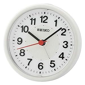 SEIKO Clocks Despertador Analógico Cuarzo Despertadores de Plástico QHE159H 1