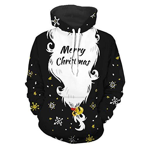 Oatmeal Dinner (Christmas Pullover Sweatshirts, IEason Mens 3D Printed Christmas Pullover Long Sleeve Hooded Sweatshirt Tops Blouse)