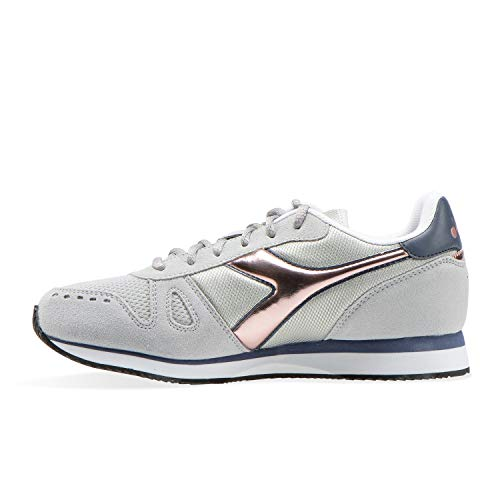 Wn Simple Glacier Run Donna 7539 Diadora Sneaker Gray a6WEAvwxxq