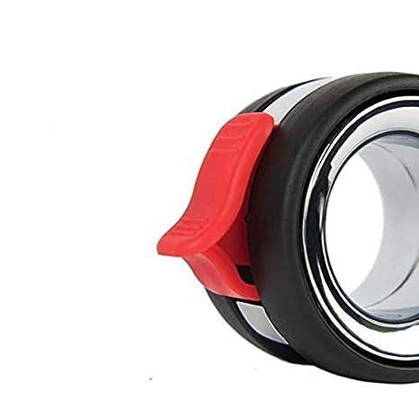 ROJO Di/ámetro 60mm con placa de montaje y tornillos incluidos. QC KE75R22P 4 Ruedas para muebles 2 con freno y 2 sin freno
