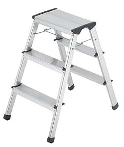 Hailo 8643 001 Stepke Model 330 Pound Capacity Aluminum