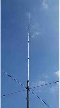 Antena Vertical 10 – 15 – 20 – 40 radiali caricati pst-1524vc ...