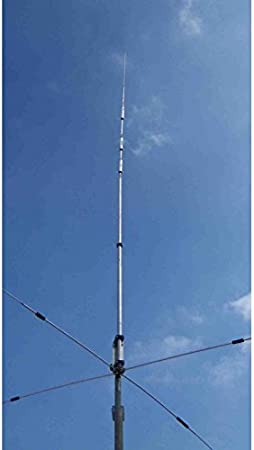 Antena Vertical 3 bandas T (12 – 17 – 30 m) radiali duros pst ...
