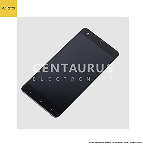 Replacement Part Black Color : Black SHIFENX LCD Screen and Digitizer Full Assembly for ZTE Blade V10 Vita