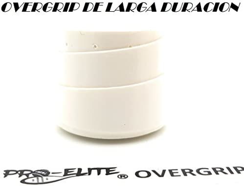 overgrip Pro Elite Premium Perforado Blanco: Amazon.es: Deportes y ...