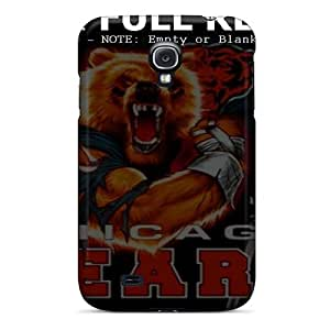 Galaxy S4 Cases Covers Skin : Premium High Quality Chicago Bears Cases