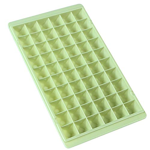 Ice Cube Tray Large Size Silicone Flexible 60 Cavity Ice Maker for Whiskey and Cocktails, Keep Drinks Chilled