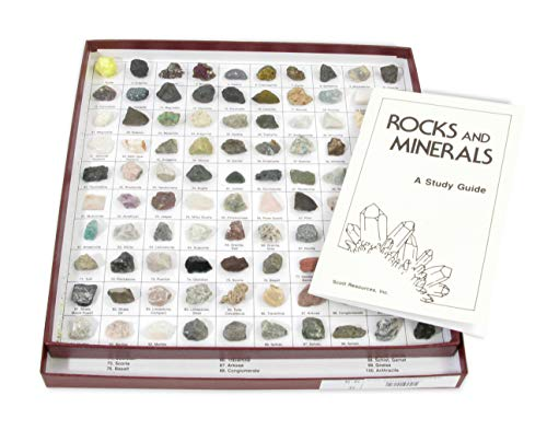 (American Educational The U.S. Mounted Rocks and Minerals Collection (Pack of 100))