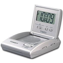 Timex T315SX Travel Alarm Clock Radio (Silver)