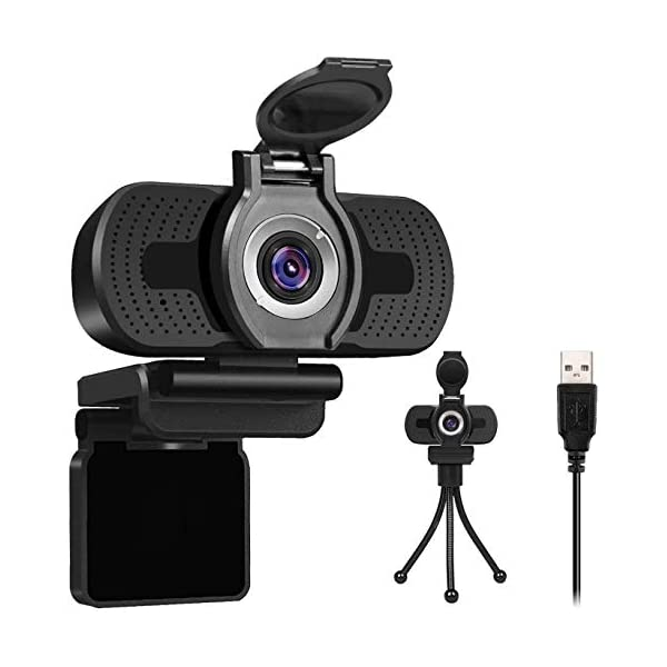 Webcam with Microphone 1080P HD USB Desktop Web Cam Camera Facecam for Streaming Gaming Conferencing