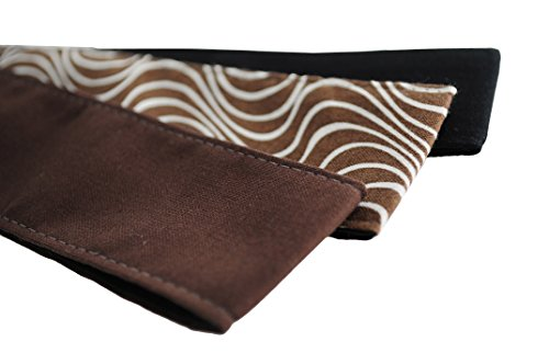 Skinny Headbands, Earthy Tones Collection, Cafe Mocha, Hot Chocolate, Deep Black