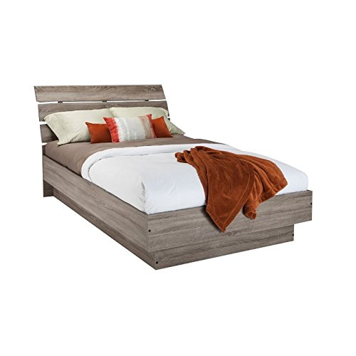 - Tvilum 76200/13cj Scottsdale Bed with with Slats, Queen, Truffle