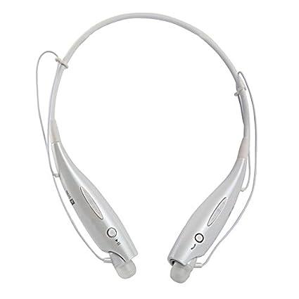 aaerp 730 Auriculares inalámbricos Bluetooth Deportes Auriculares Bluetooth colgando del cuello del auricular con bajo Mic