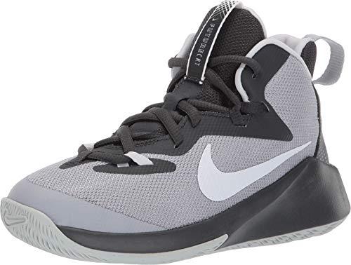 Nike Kids Boy's Future Court (Big Kid) Wolf Grey/White/Anthracite/Pure Platinum 3.5 M US Big Kid (Boys Nike High Top Shoes)