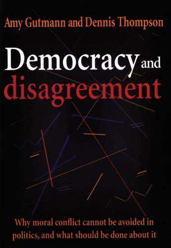 essays on democracy and disagreement Deliberative politics: essays on democracy and disagreement - ebook written by stephen macedo read this book using google play books app on your pc, android, ios devices.