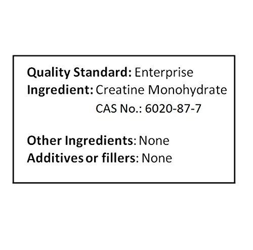 NuSci Pure Creatine Monohydrate Micronized Powder (2000 grams (4.4 lb))