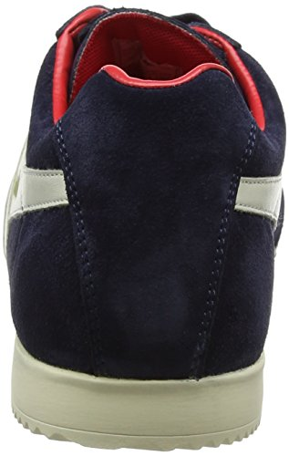 para Harrier Zapatillas Gola Hombre White Off Azul Red Navy Suede Otwd6qa