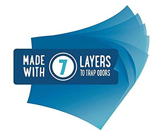 Get 33/% More Disposal Hero Liner Than Original Venture V310 3-Pack EXTRA Super Saver Bonus 100/% Compatible Nappy Bin Liner Refill 16L