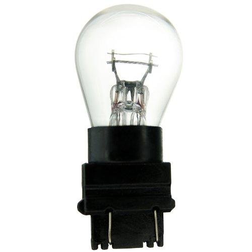 Sunlite 3157 26.9/8.3W/S8/12.8/14V/CL/PW 26.9/8.3-watt 12.8/14-volt Plastic Wedge Based Miniature S8 Bulb, Clear