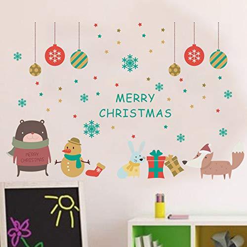 Etiqueta De La Pared Decoración Feliz Navidad Decoración ...