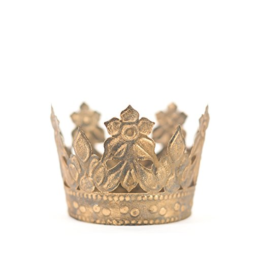 - Gold Crown Cake Topper, Antique Gold Crown, Mini Crown