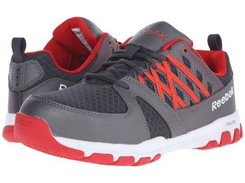 Reebok Work(リーボック) メンズ 男性用 シューズ 靴 スニーカー 運動靴 Sublite Work Grey/Red [並行輸入品] B07BMMYPWM 12 D Medium