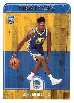 Official Nba Basketball Card (2017-18 Panini NBA Hoops Basketball #288 Jordan Bell Rookie Card)